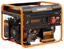 Генератор бензиновый Daewoo GDA 7500 DPE-3 Dual Power